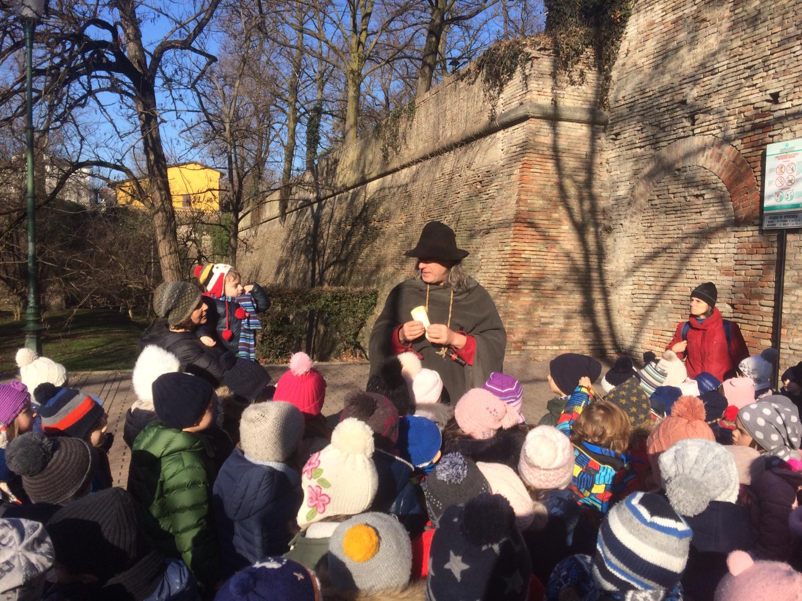 A cavare storie dai buchi dei Muri. 6 Febbraio 2019, Parco della Cittadella